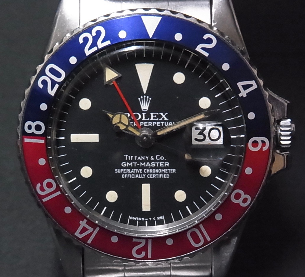Rolex 1675 GMT Master Original Tiffany   #Status ; Sold#