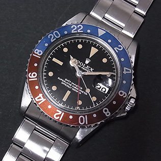 Rolex 1675 Gilt CR PCG  #Status ; Sold#<br>Status : Sold Serial : 8xx,xxx Year : 1962 Movement : 1565