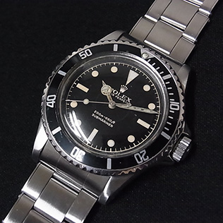 Rolex 5512 Gilt CR PCG Exclamation Mark   #Status ; Sold#<br>Status : Sold Serial : 8xx,xxx Year : 1962 Movement : 1530