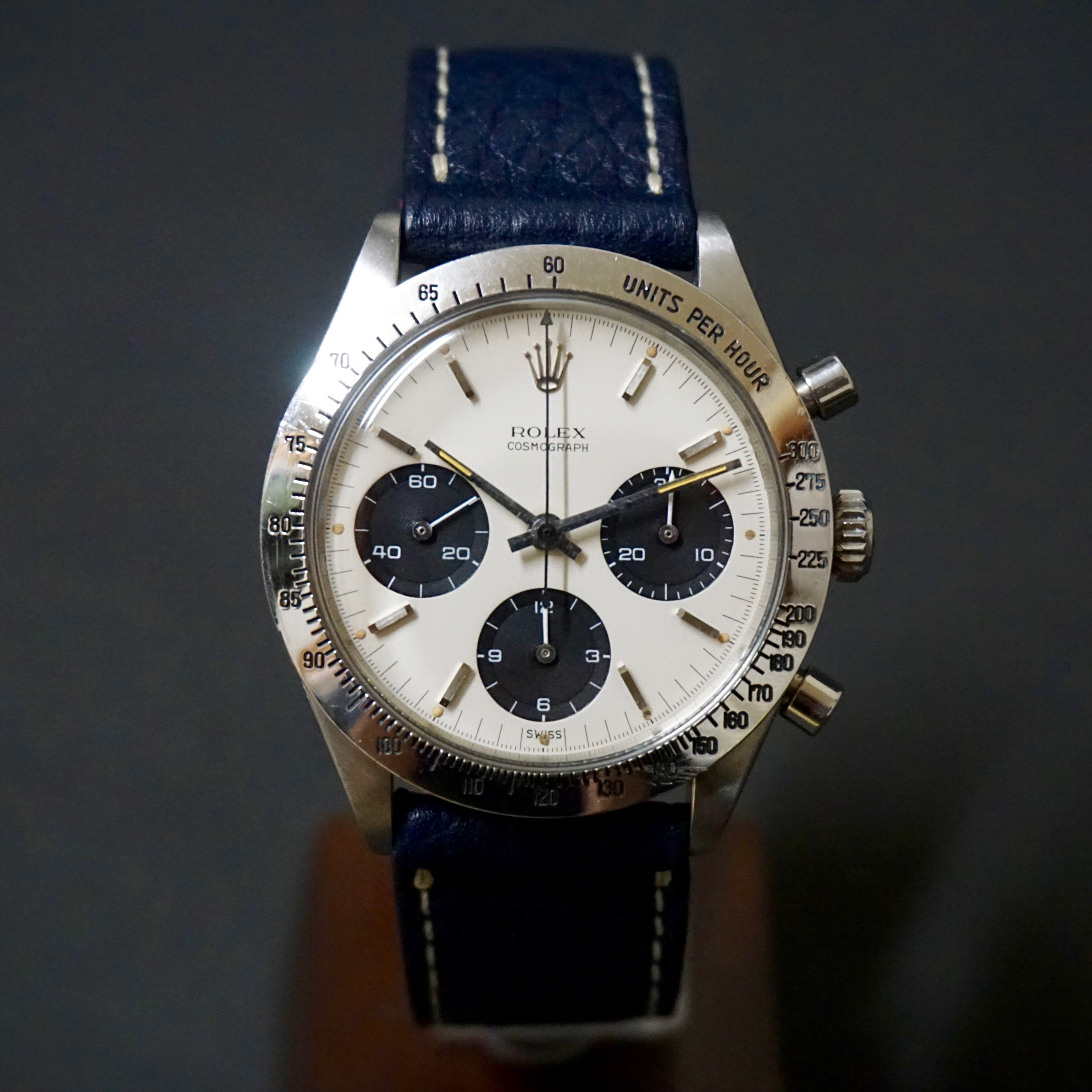 Nice first series daytona 6239 double swiss #status ; Sold#