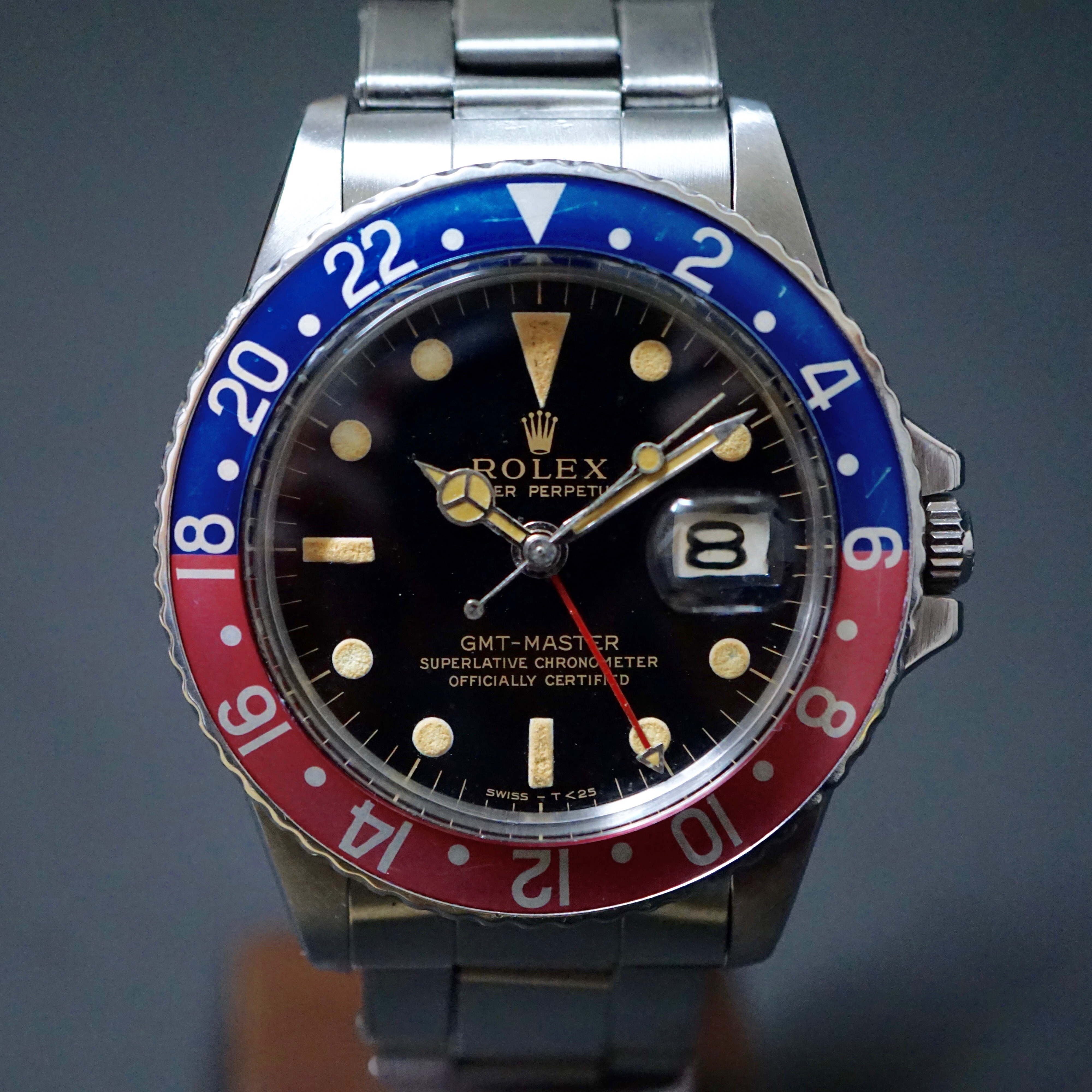 Nice patina 1675 Gilt GMT early 1967 #status ; Sold#