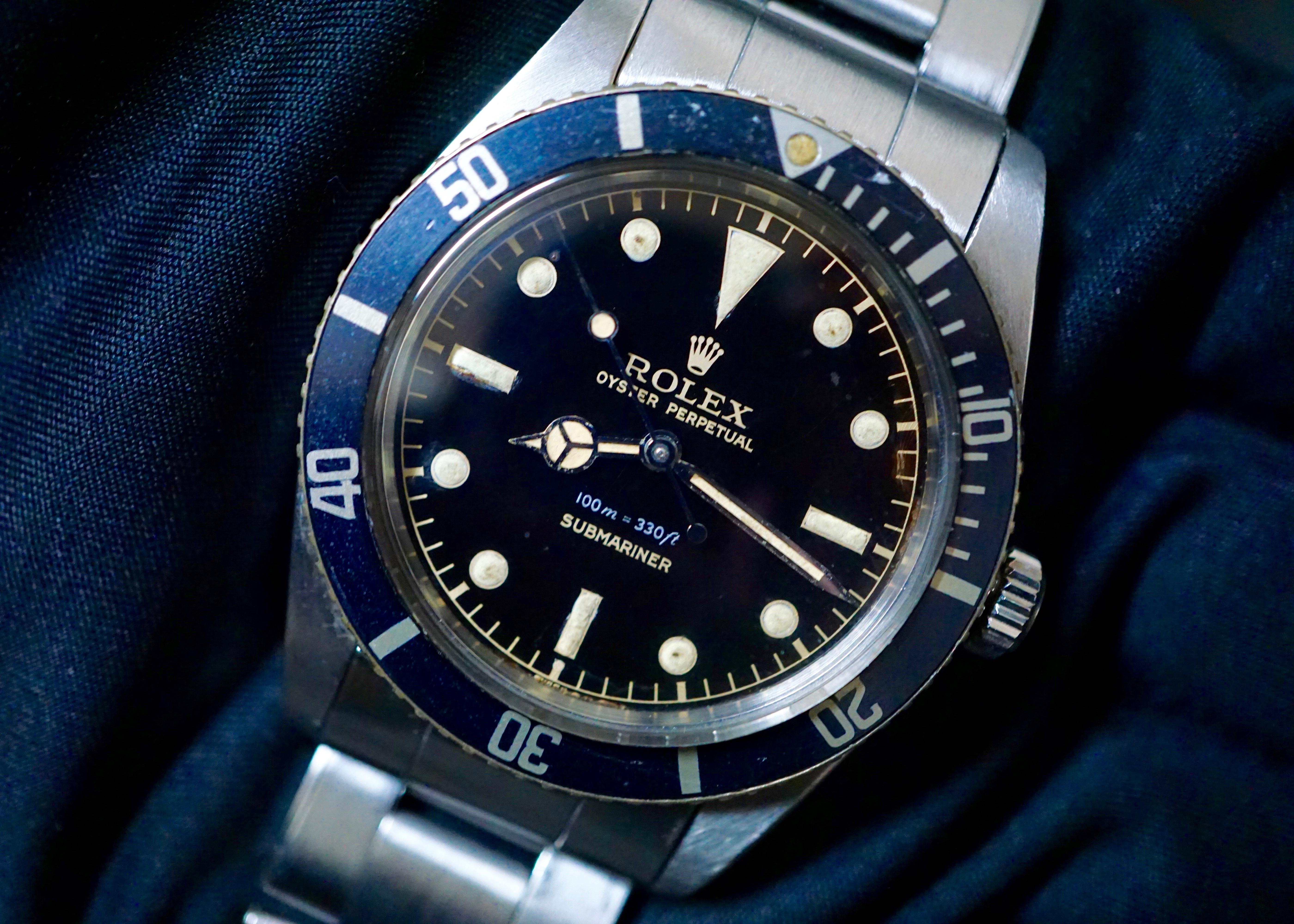 1962 ROLEX SUBMARINER REF. 5508 #Status ; Sold#