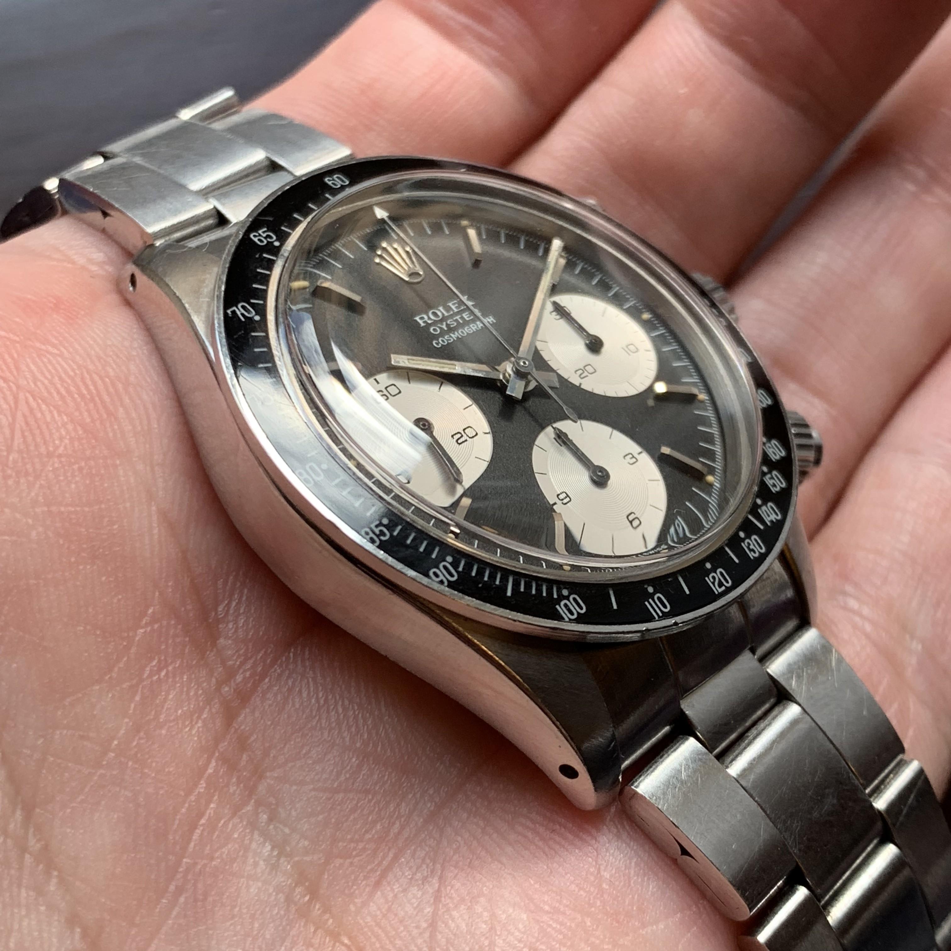Rolex Ref 6263 sigma MK1 Box and Papers Circa 1972 Status Sold