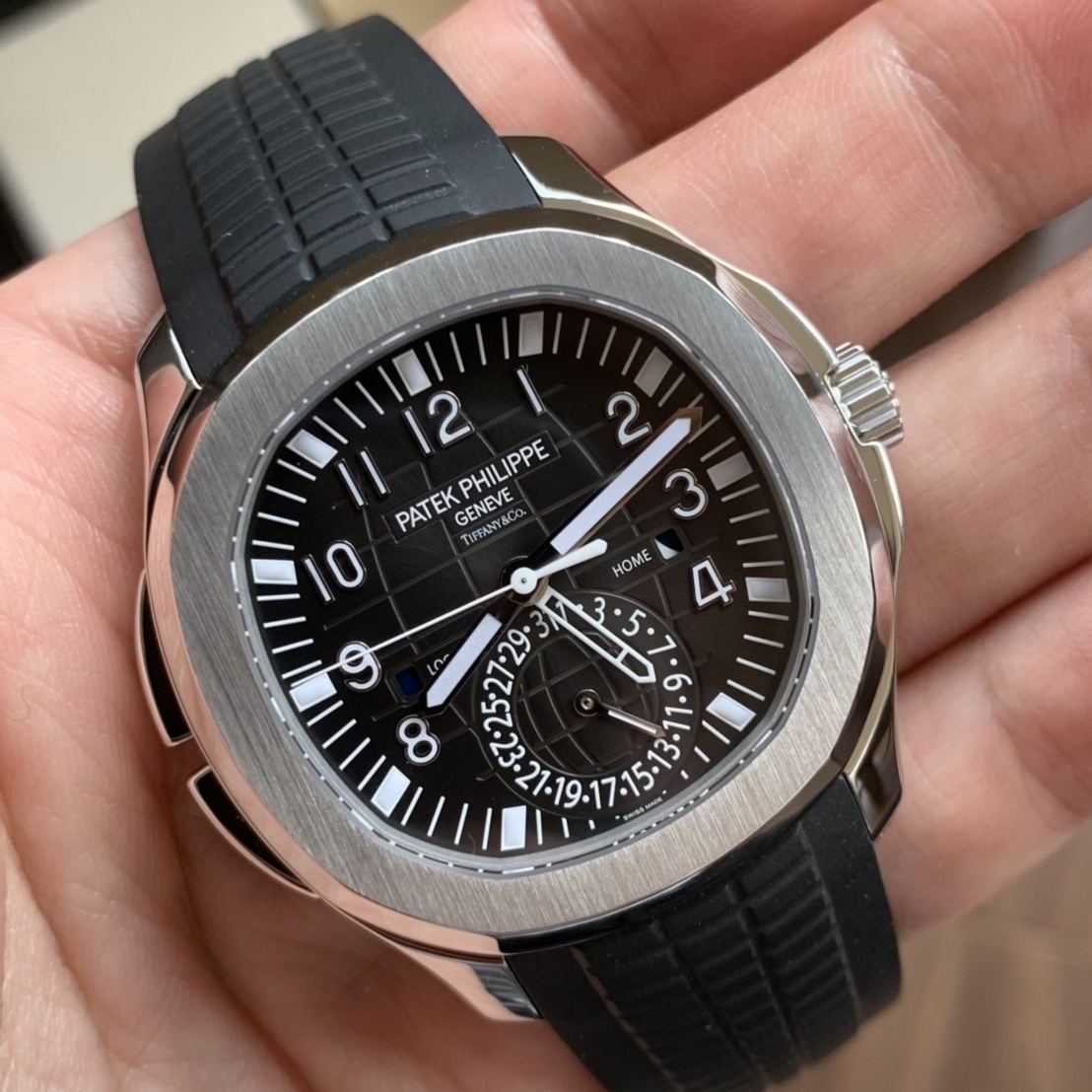 Patek Philippe Ref 5164a TravelTime Retailed By Tiffany and Co  #Status Sold