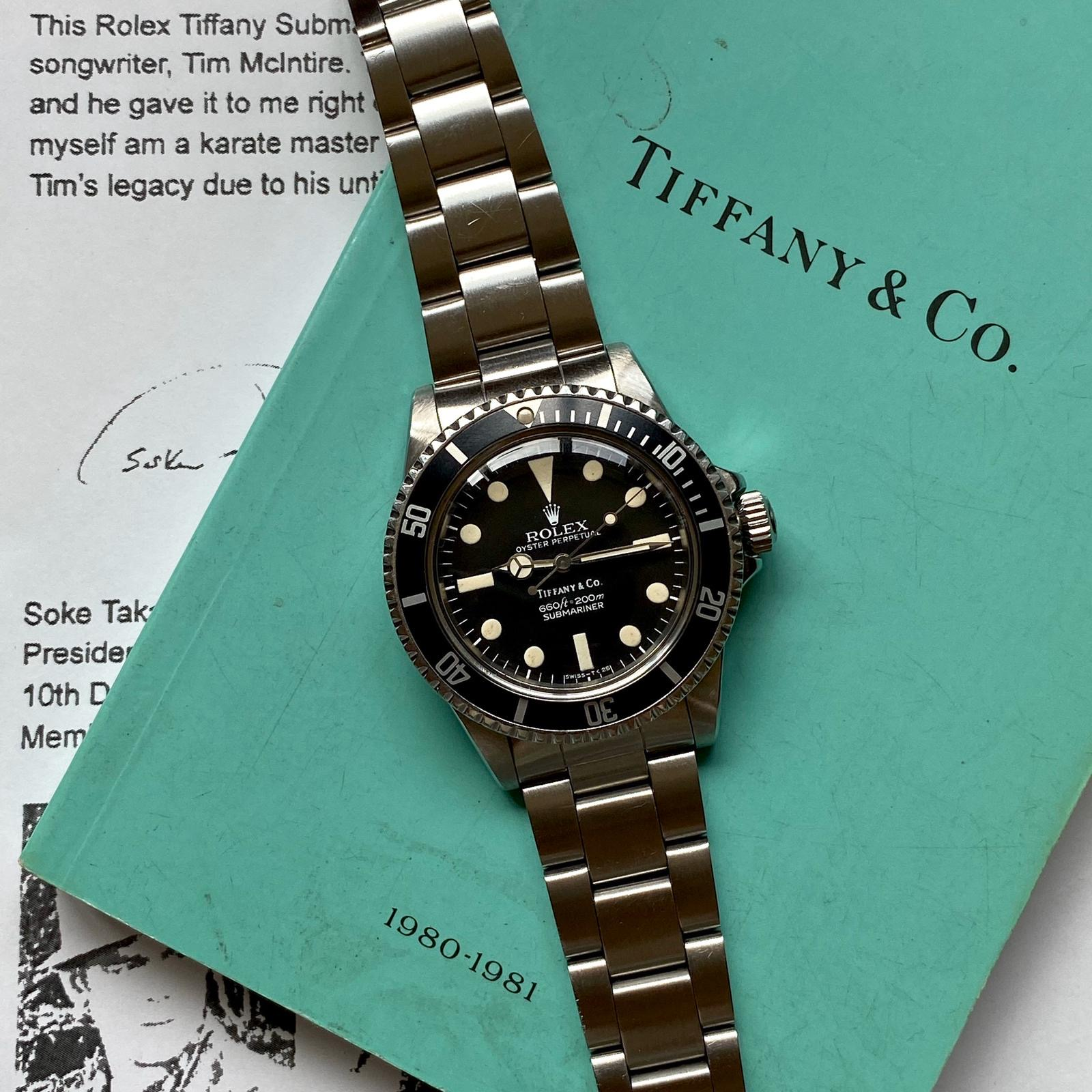 Rolex Ref 5513 Maxi MK1 retailed by Tiffany #Status : Sold
