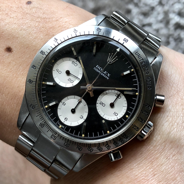 Rolex Ref 6239 double Swiss no underline Circa 1963 #Status Sold