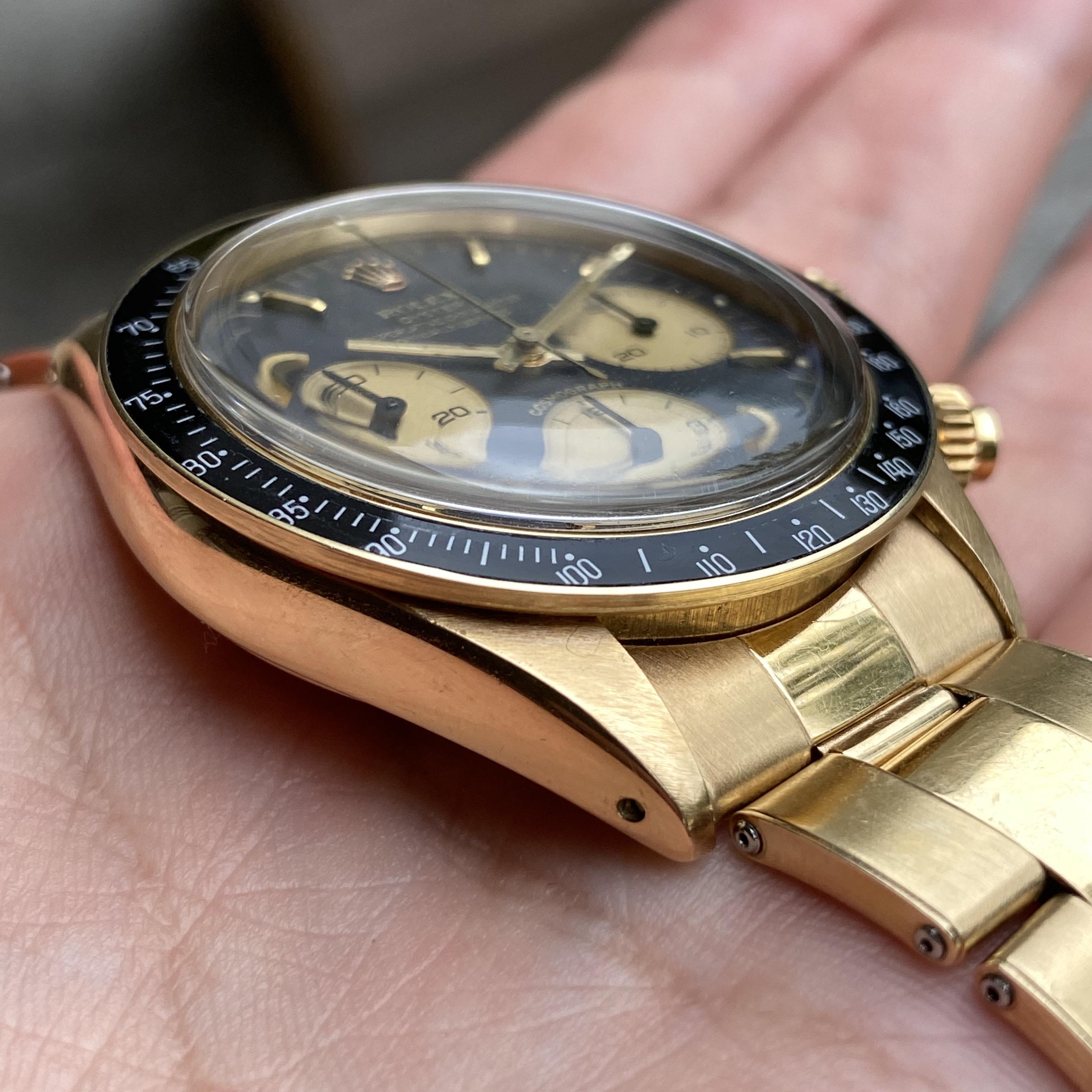 Rolex 6263 14K big eyes 1976 #status : sold