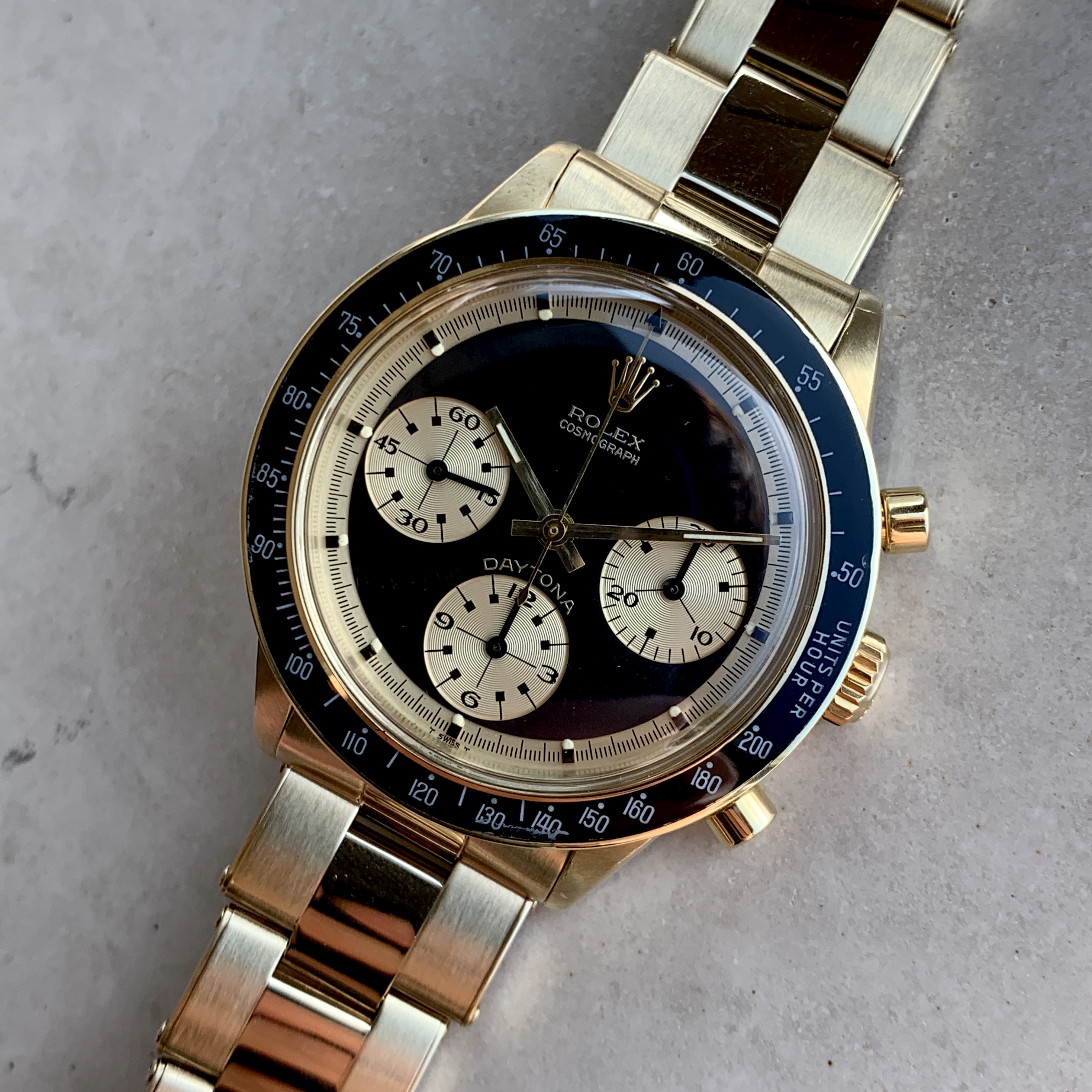 Rolex Ref 6241 JPS 18K Circa 1969 #Status Sold