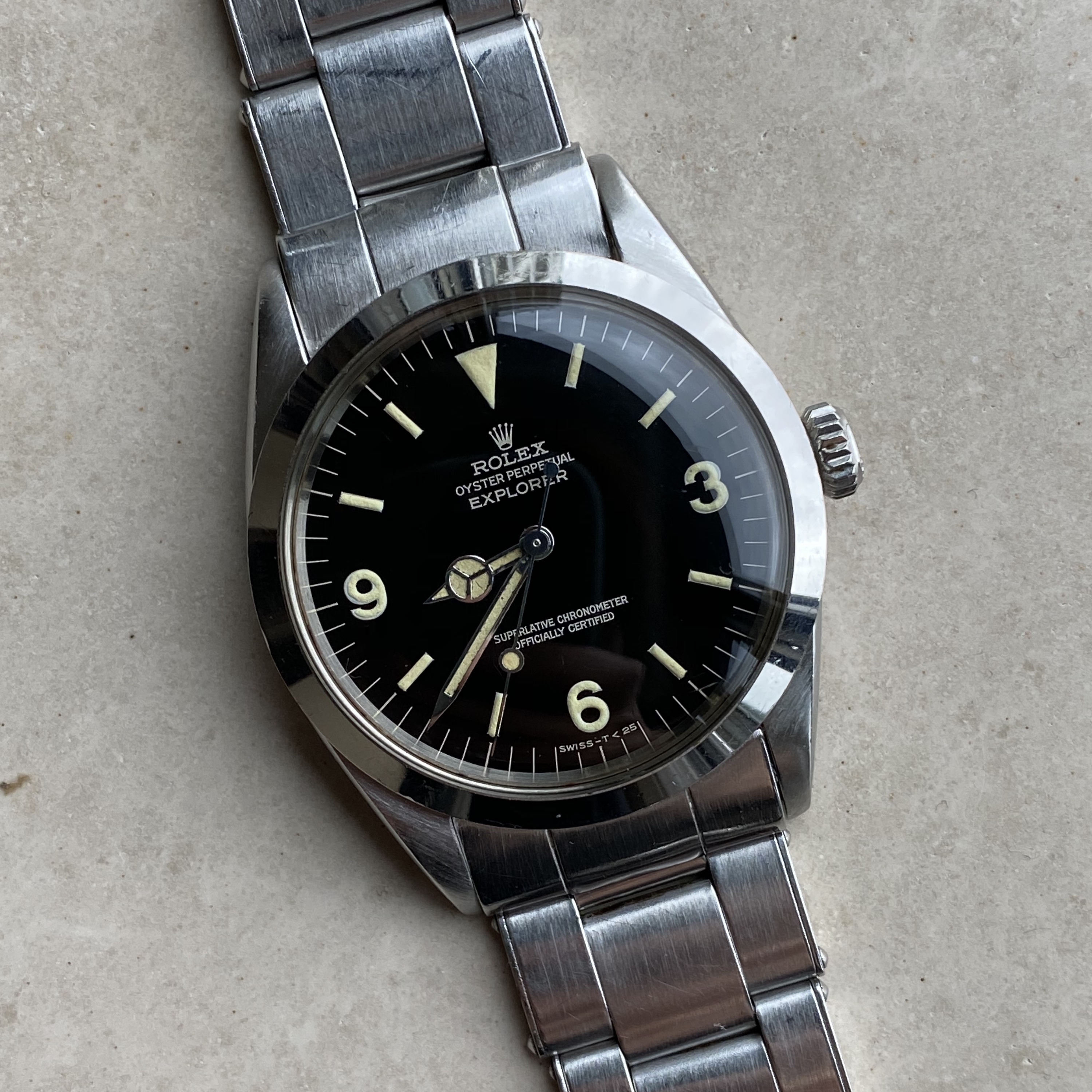 Rolex Ref 1016 gilt EX1 in mint circa 1966 #Status Sold