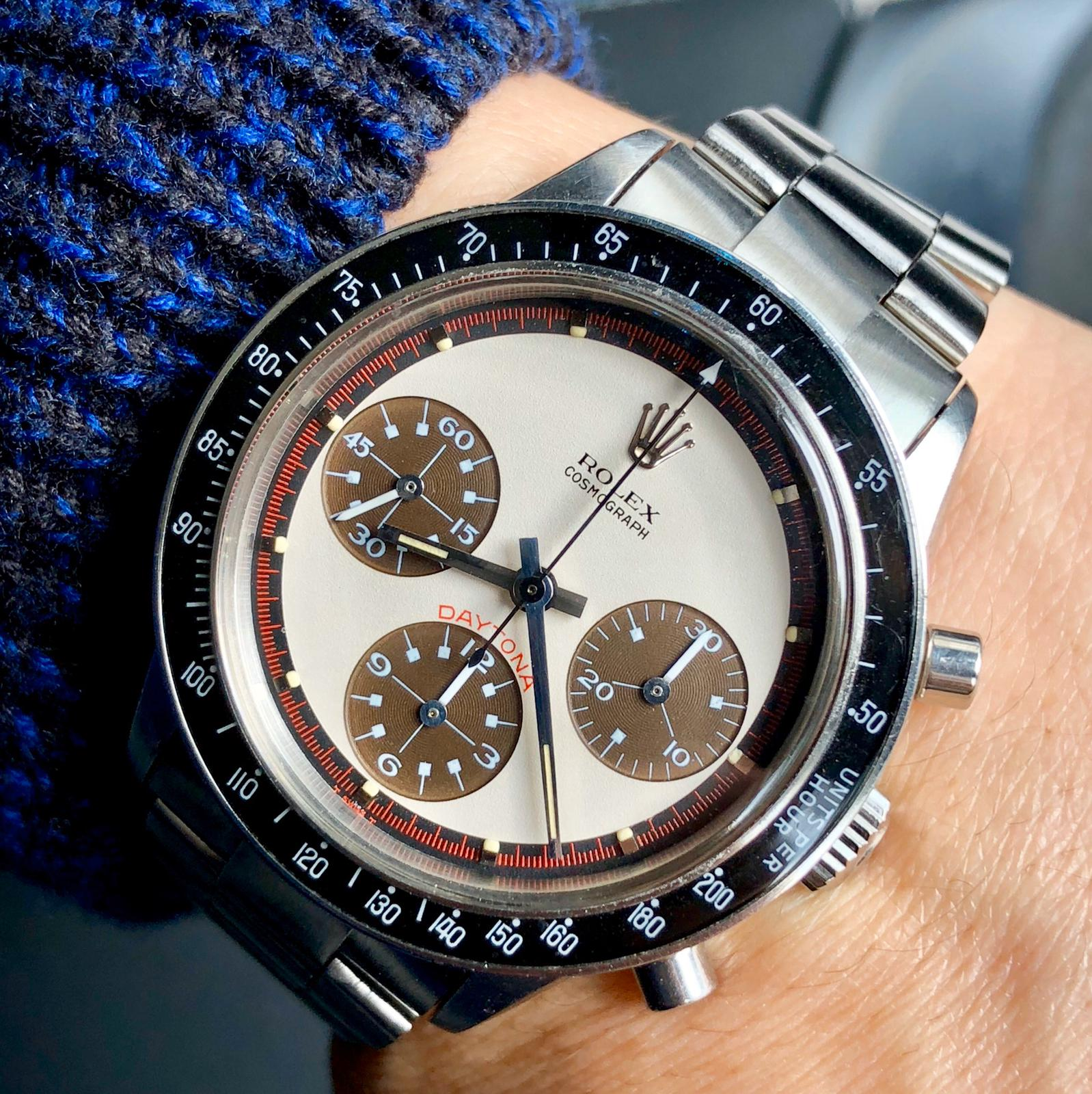 Rolex 6241 tropical PN with brown eyes 1968 #status : Sold